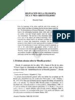 REHABILITACIÓN DE LA FILOSOFÍA PRÁCTICA Y NEO-ARISTOTELISMO, FRANCO VOLPI