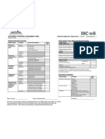 Autonomic Standards Assessment Form FINAL 2009