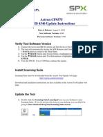 CP9575 SWID4346 Update Inst