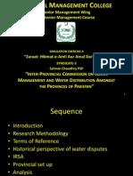 Presentation Water Scarcity Pakistan