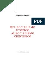 Del Socialismo Utopico Al Socialismo Cientifico:Federico Engels