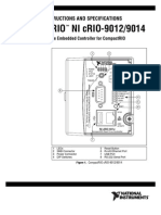 Crio-9012 9014 Operating Instructions