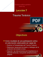 27245368 PHTLS Leccion 07 Trauma Toracico ENARM