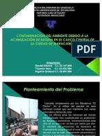 CONTAMINACIÓN DEL AMBIENTE DEBIDO A LA ACUMULACIÓN DE