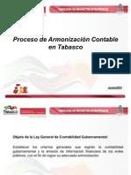 Armonizacion Contable en Tabasco-para Dacea