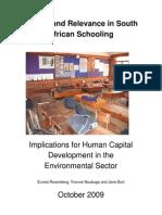 Schools Quality Environmental Learning