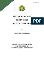 Tugas Rancang Roda Gigi Belt Conveyer