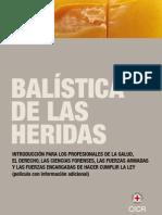 Balistica de Las Balas