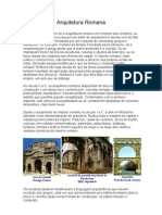 Aquitetura Romana