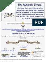 A Beginers Guide to Masonic Jurisprudence