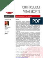 CV Marcel Hogenhout - Test Manager / -Adviseur - korte versie (DUT)