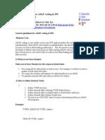 ABAP Coding in BI