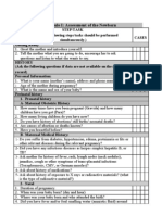 Paed Osce checklist