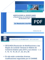 Reformas IMMEX Diciembre 2010 - Foros 2a.rcgmCE