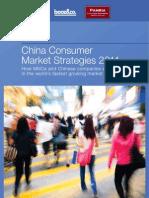 China Consumer Market Strategies 2011 Trends