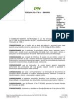 Resolucao CFM 1638_2002 Comissao de Prontuarios