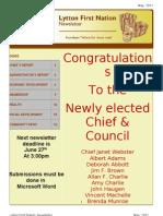 May 2011 news