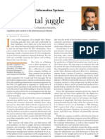 Pharmaceutical Information Systems - The Digital Juggle