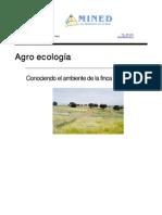 Agroecología, conociendo el ambiente de la finca, MINED