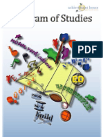 Program of Studies8