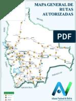 Mapa de Rutas y Plazos Autorizados