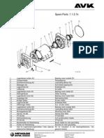 100000326_AVK DSG 86 Parts Listing A