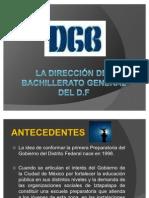 LA DIRECCIÓN DEL BACHILLERATO GENERAL DEL D