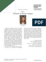 Essentials of Thoracic Imaging