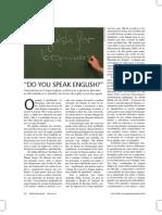 [Gestão Educacional] Do You Speak English
