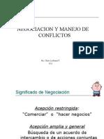 Tecnicas de Negociacion y Manejo de Conflictos