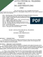Basic and Battle Physical Training (Boxing & Wrestling) 1945