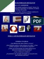 Los Materiales Metalicos