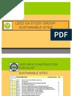 LEED GA Sustainable Sites