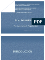 Alto Horno  (clase magistral) _ autor