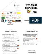 Festa Major de Les Pedreres 300