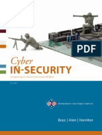 Cyber in-Security Strengthening the Federal Cyber Security Workforce-[2009[1].07.22]