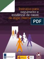 Instrutivo para seguimento e incidência de casos de litígio internacional - Portugués