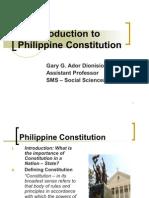 Philippine Constitution
