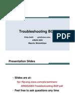 AfNOG2005 Troubleshooting BGP
