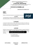 Consejo  Comunal Solicitud de Bombillas de Alumbrado Publico