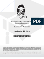 NextGen Direct Program Description