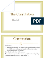 Ch. 2 - The Constitution (Class)
