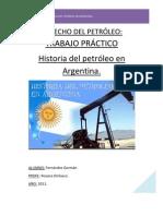 HISTORIA DEL PETRÓLEO EN ARGENTINA