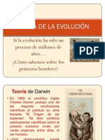 Teoría de la Evolución y tipos de homínidos