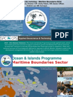 DSM Workshop SOPAC OIP 2011 Maritime Boundaries Status