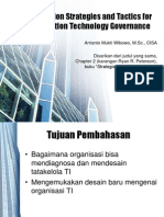 Integration Strategies and Tactics for Information Technology Governance