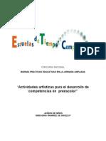 Actividades Artistic As Para El Desarrollo de Competencias