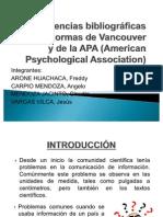 Re.Biblio. según Normas de Vancouver y de APA (FINAL)