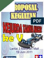 Proposal Tamiya Nascar