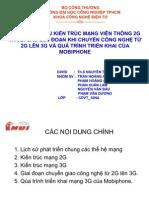 Kiến trúc mạng 2G & 3G